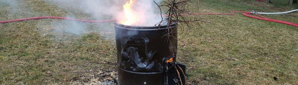 Einsatzübung – Brand Mittel – Scheunenbrand