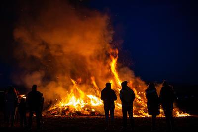 Dieses Jahr keine Hexenfeuer